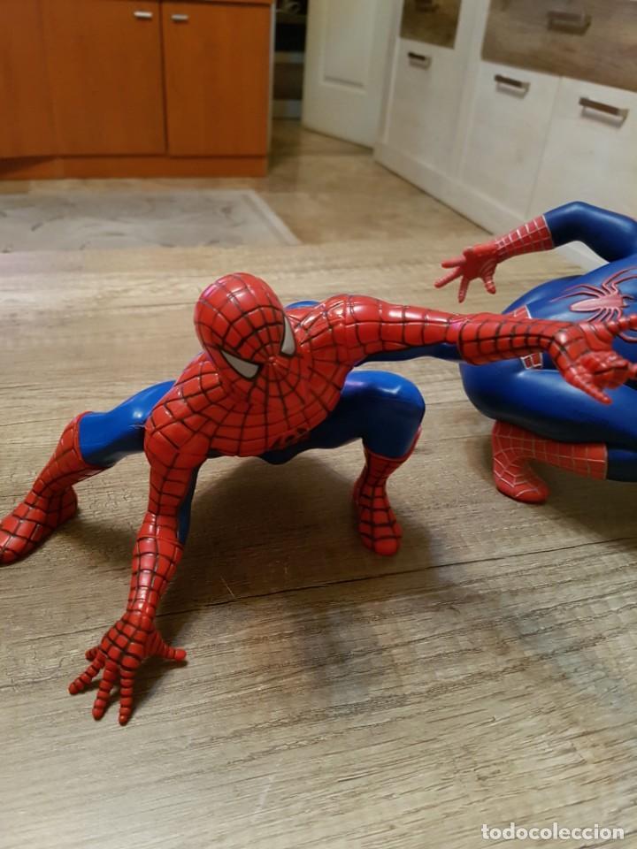 Figuras y Muñecos Marvel: LOTE DE 6 FIGURAS MARVEL SPIDERMAN DE GRAN TAMAÑO.( 4 FIGURAS SON HUCHAS ) - Foto 11 - 241943105