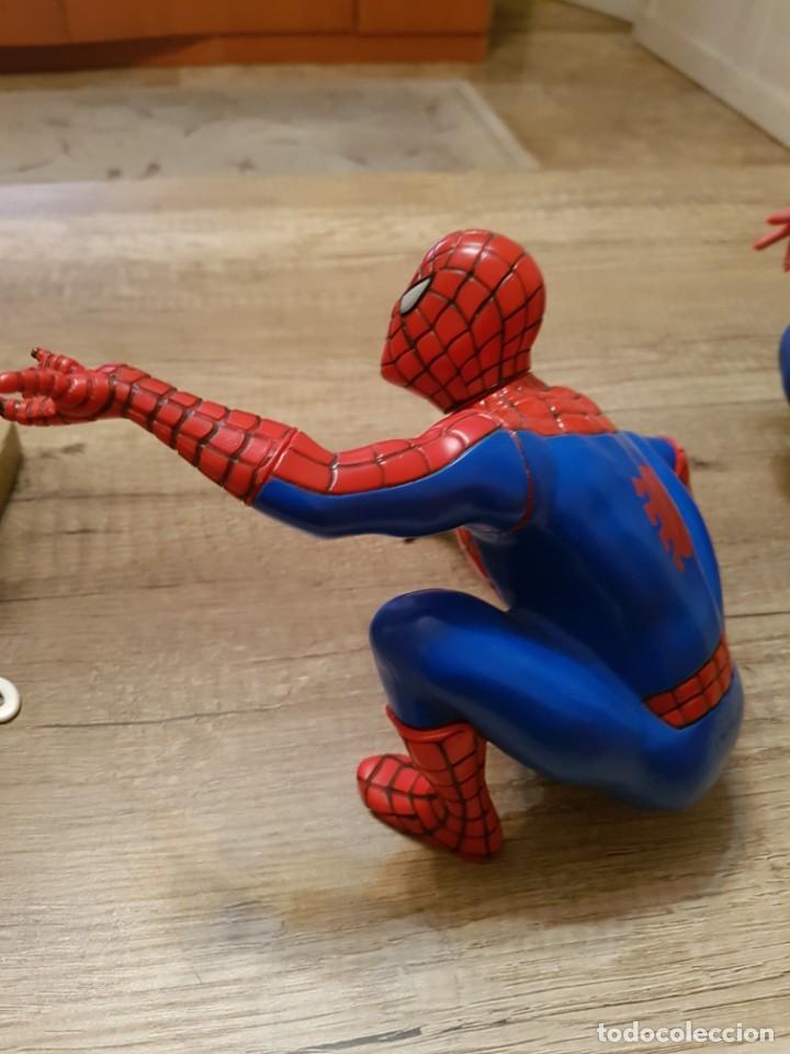Figuras y Muñecos Marvel: LOTE DE 6 FIGURAS MARVEL SPIDERMAN DE GRAN TAMAÑO.( 4 FIGURAS SON HUCHAS ) - Foto 13 - 241943105