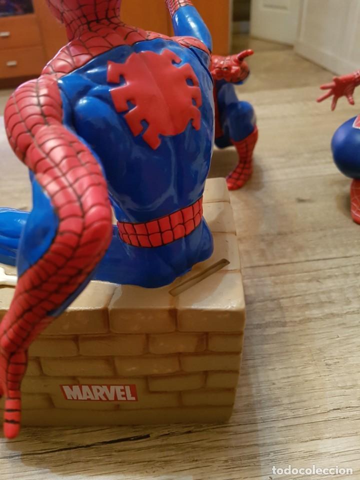 Figuras y Muñecos Marvel: LOTE DE 6 FIGURAS MARVEL SPIDERMAN DE GRAN TAMAÑO.( 4 FIGURAS SON HUCHAS ) - Foto 15 - 241943105