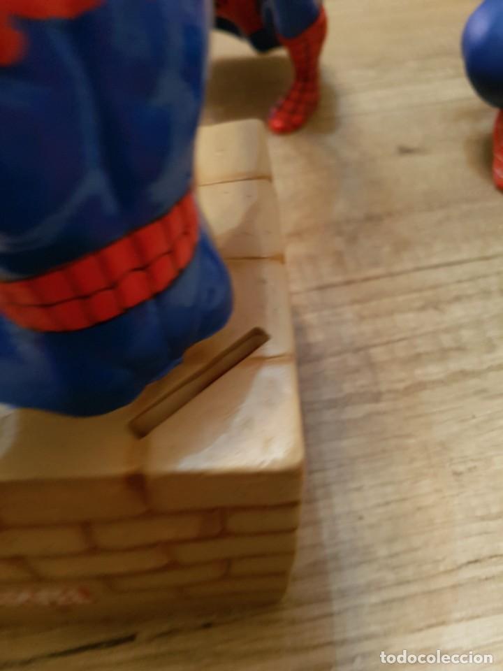 Figuras y Muñecos Marvel: LOTE DE 6 FIGURAS MARVEL SPIDERMAN DE GRAN TAMAÑO.( 4 FIGURAS SON HUCHAS ) - Foto 16 - 241943105