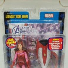 Figuras y Muñecos Marvel: MARVEL LEGENDS BRUJA SCARLATA. LEGENDARY RIDERS. SCARLET WITCH. 2005.. Lote 242487320
