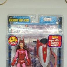 Figuras y Muñecos Marvel: MARVEL LEGENDS BRUJA SCARLATA. LEGENDARY RIDERS. SCARLET WITCH. 2005.. Lote 242487600