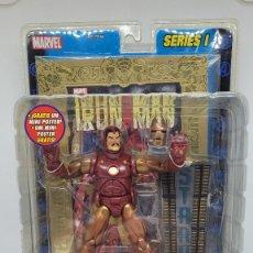 Figuras y Muñecos Marvel: MARVEL LEGENDS IRON MAN. HOMBRE DE HIERRO.. SERIES I. FAMOSA 2002.. Lote 242543805
