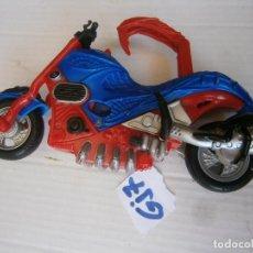 Figuras y Muñecos Marvel: ESPECTACULAR MOTO SPIDERMAN. Lote 244434750