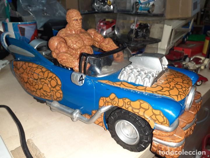 Figuras y Muñecos Marvel: La Cosa y el Fantasticar.Los 4 Fantásticos.Toy Biz 2005.Marvel. - Foto 2 - 244990905