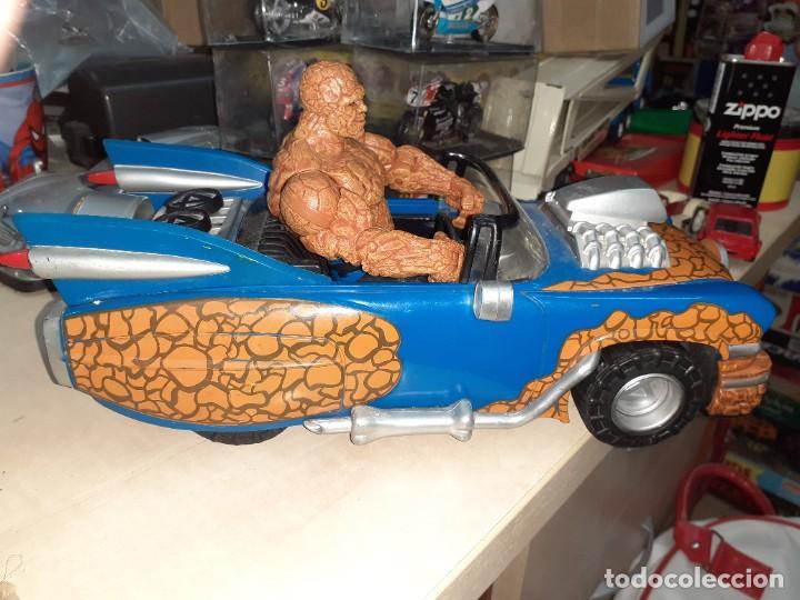 Figuras y Muñecos Marvel: La Cosa y el Fantasticar.Los 4 Fantásticos.Toy Biz 2005.Marvel. - Foto 3 - 244990905
