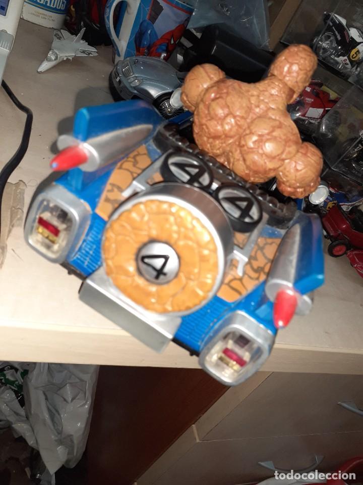 Figuras y Muñecos Marvel: La Cosa y el Fantasticar.Los 4 Fantásticos.Toy Biz 2005.Marvel. - Foto 4 - 244990905