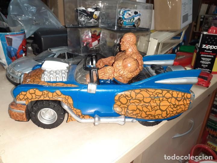 Figuras y Muñecos Marvel: La Cosa y el Fantasticar.Los 4 Fantásticos.Toy Biz 2005.Marvel. - Foto 5 - 244990905