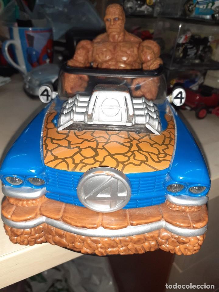 Figuras y Muñecos Marvel: La Cosa y el Fantasticar.Los 4 Fantásticos.Toy Biz 2005.Marvel. - Foto 6 - 244990905