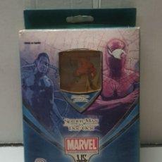Figuras y Muñecos Marvel: JUEGO TRADING CARD GAME SPIDER-MAN VS DOC OCK EN BLISTER. Lote 247557160