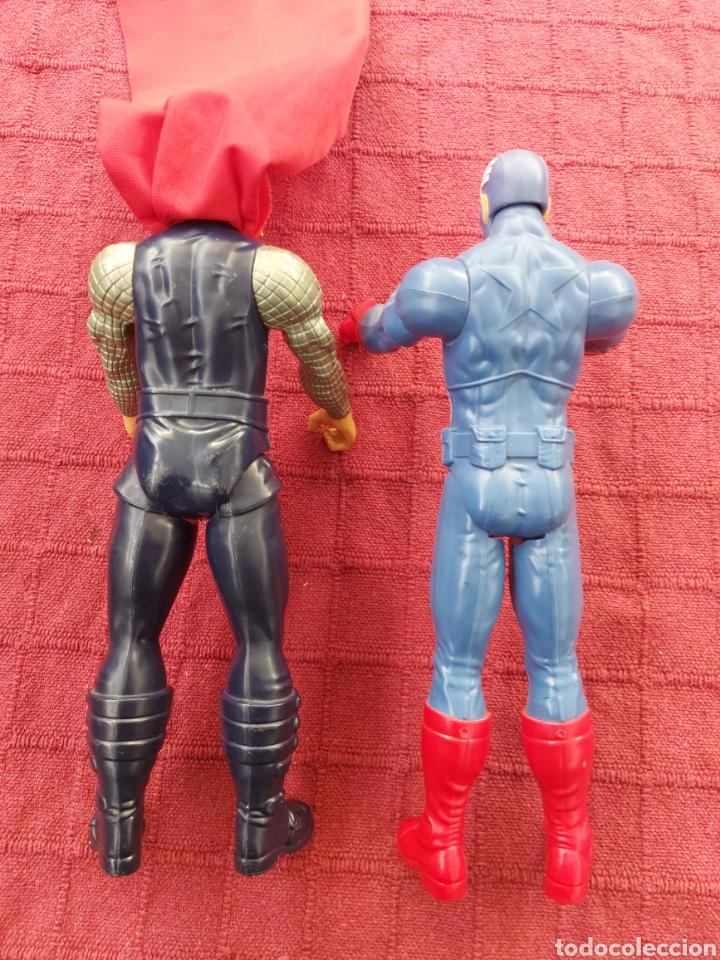 Figuras y Muñecos Marvel: FIGURA DE ACCIÓN THOR HASBRO MARVEL 2013- CAPITÁN AMÉRICA HASBRO 2013-SUPER HEROES LOS VENGADORES - Foto 8 - 252445445