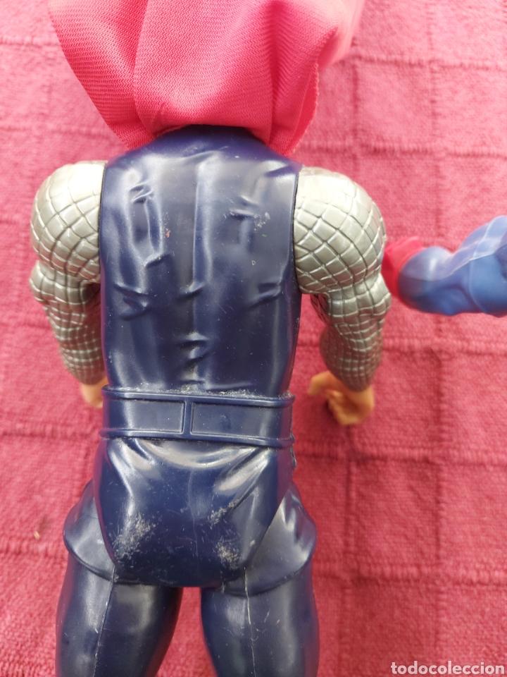 Figuras y Muñecos Marvel: FIGURA DE ACCIÓN THOR HASBRO MARVEL 2013- CAPITÁN AMÉRICA HASBRO 2013-SUPER HEROES LOS VENGADORES - Foto 9 - 252445445
