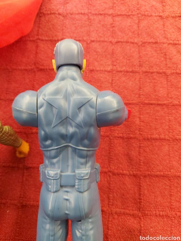 Figuras y Muñecos Marvel: FIGURA DE ACCIÓN THOR HASBRO MARVEL 2013- CAPITÁN AMÉRICA HASBRO 2013-SUPER HEROES LOS VENGADORES - Foto 10 - 252445445