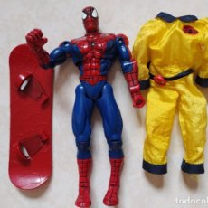 Figuras y Muñecos Marvel: FIGURA SPIDERMAN ARTICULADA. MARVEL 2001. Lote 252523115