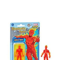 Figuras y Muñecos Marvel: ANTORCHA HUMANA FIGURA 9.5 CM MARVEL LEGENDS RETRO. Lote 252827835