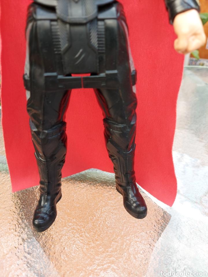 Figuras y Muñecos Marvel: FIGURA DE ACCIÓN THOR ELECTRÓNICO HASBRO MARVEL 2015 ,HEROE DE LOS VENGADORES - Foto 5 - 254978800