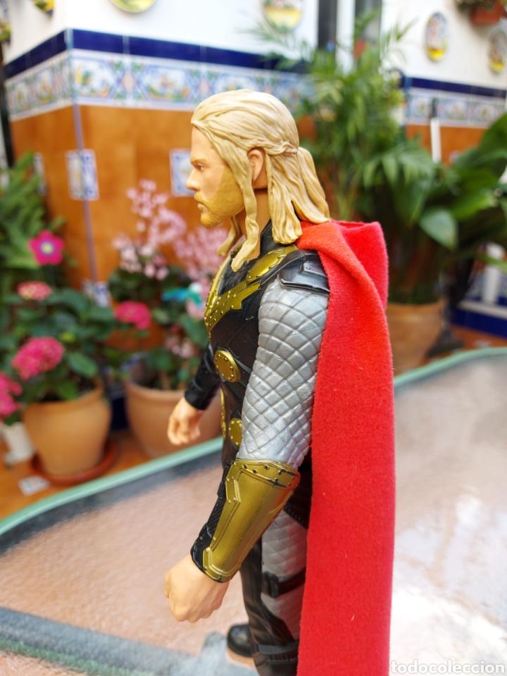 Figuras y Muñecos Marvel: FIGURA DE ACCIÓN THOR ELECTRÓNICO HASBRO MARVEL 2015 ,HEROE DE LOS VENGADORES - Foto 9 - 254978800