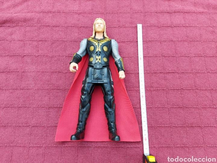 Figuras y Muñecos Marvel: FIGURA DE ACCIÓN THOR ELECTRÓNICO HASBRO MARVEL 2015 ,HEROE DE LOS VENGADORES - Foto 17 - 254978800