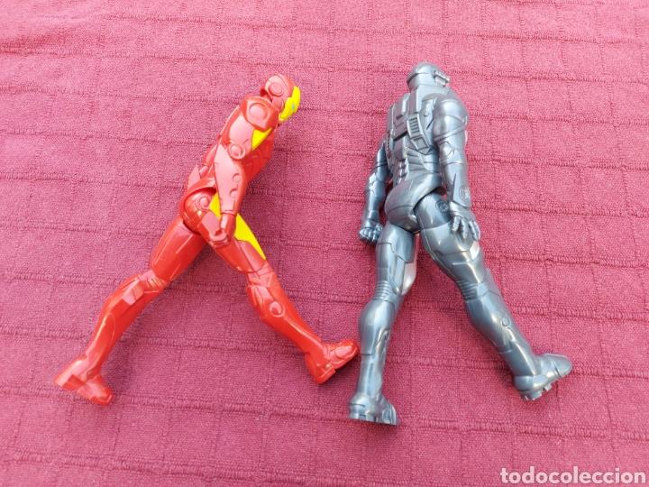 Figuras y Muñecos Marvel: FIGURA DE ACCIÓN IRON MAN (DOS FIGURAS)HASBRO 2013 Y 2014 MARVEL, HEROES DE LOS VENGADORES - Foto 5 - 254982545