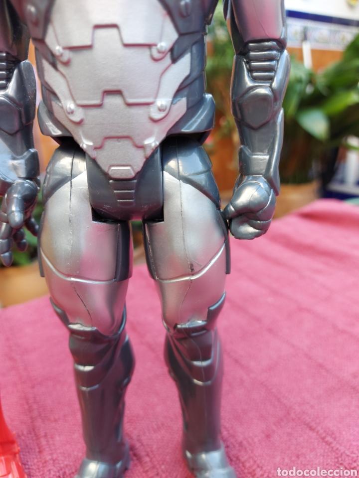 Figuras y Muñecos Marvel: FIGURA DE ACCIÓN IRON MAN (DOS FIGURAS)HASBRO 2013 Y 2014 MARVEL, HEROES DE LOS VENGADORES - Foto 12 - 254982545