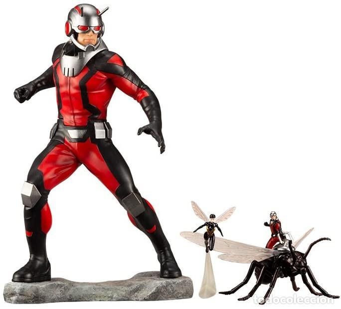 KOTOBUKIYA ESTATUA ASTONISHING ANT-MAN & WASP 19 CM. AVENGERS SERIES ARTFX+ (Juguetes - Figuras de Acción - Marvel)
