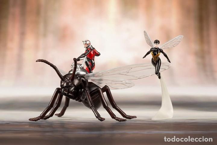 Figuras y Muñecos Marvel: Kotobukiya Estatua Astonishing Ant-Man & Wasp 19 cm. Avengers Series ARTFX+ - Foto 3 - 255014125