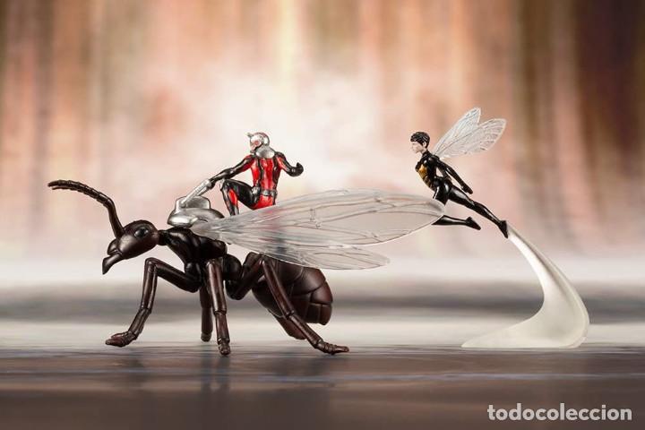 Figuras y Muñecos Marvel: Kotobukiya Estatua Astonishing Ant-Man & Wasp 19 cm. Avengers Series ARTFX+ - Foto 5 - 255014125