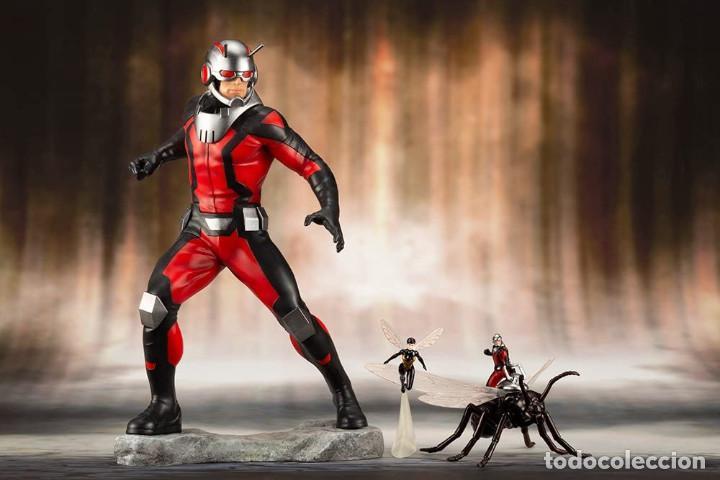 Figuras y Muñecos Marvel: Kotobukiya Estatua Astonishing Ant-Man & Wasp 19 cm. Avengers Series ARTFX+ - Foto 6 - 255014125