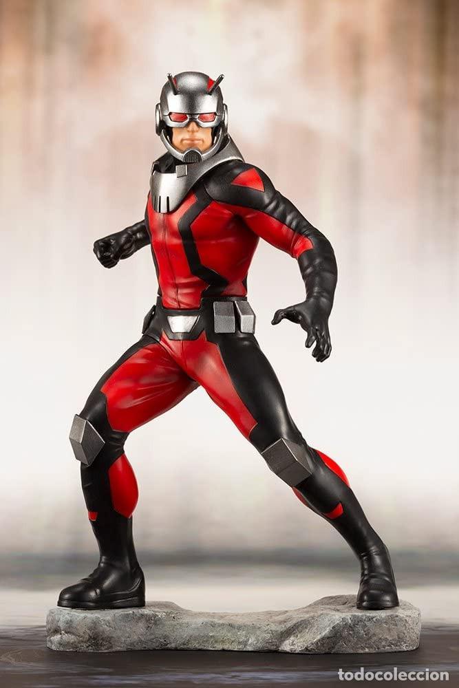 Figuras y Muñecos Marvel: Kotobukiya Estatua Astonishing Ant-Man & Wasp 19 cm. Avengers Series ARTFX+ - Foto 7 - 255014125