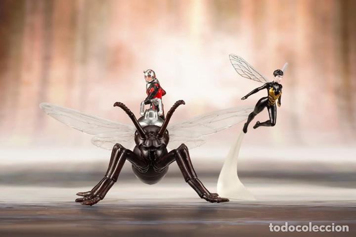 Figuras y Muñecos Marvel: Kotobukiya Estatua Astonishing Ant-Man & Wasp 19 cm. Avengers Series ARTFX+ - Foto 12 - 255014125