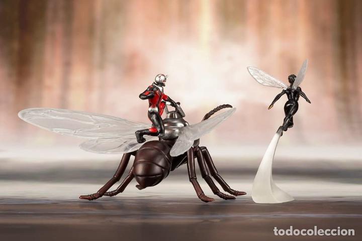 Figuras y Muñecos Marvel: Kotobukiya Estatua Astonishing Ant-Man & Wasp 19 cm. Avengers Series ARTFX+ - Foto 15 - 255014125