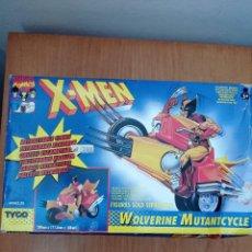 Figuras y Muñecos Marvel: X-MEN PATRULLA X LOBEZNO MOTOCICLETA MARVEL - TOY BIZ 1994 [NUEVA] WOLVERINE MUTANTCYCLE. Lote 257268205