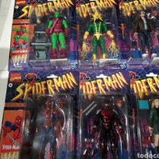 Figuras y Muñecos Marvel: FIGURAS SPIDERMAN VINTAGE MARVEL LEGENDS SET COMPLETO. Lote 257609550