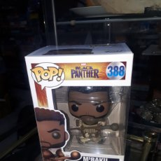 Figuras y Muñecos Marvel: BLACK PANTHER MARVEL M ' BAKU FUNKO POP 388 NUEVO. Lote 257614225