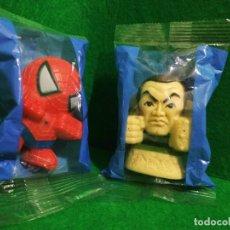 Figuras y Muñecos Marvel: FIGURAS PROMOCIONALES SPIDERMAN 3 SANDMAN PELICULA PISTOLA AGUA KO. Lote 259001120