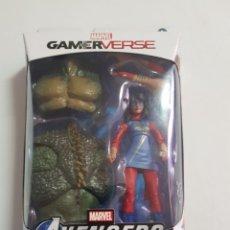 Figuras y Muñecos Marvel: AVENGERS MS.MARVEL GAMERVERSE ESTADO NUEVO. Lote 261126355