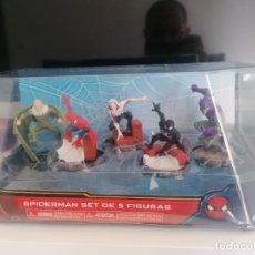 Figuras y Muñecos Marvel: SPIDERMAN SET DE 5 FIGURAS MARVEL. Lote 261343600