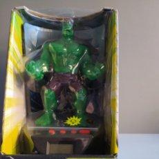 Figuras y Muñecos Marvel: DESPERTADOR HULK CON LUZ Y SONIDOS. Lote 261896295