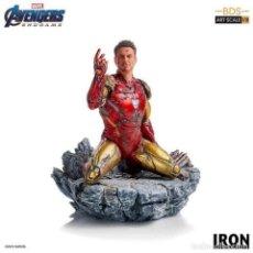 Figuras y Muñecos Marvel: ESTATUA I AM IRON MAN BDS ART SCALE 1/10 - AVENGERS: ENDGAME - IRON STUDIOS. Lote 261951445
