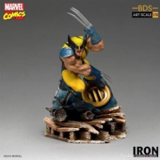 Figuras y Muñecos Marvel: ESTATUA WOLVERINE BDS ART SCALE 1/10 - MARVEL COMICS - IRON STUDIOS. Lote 261952285