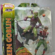 Figuras y Muñecos Marvel: MARVEL SELECT SPIDERMAN-GREEN GOBLIN EN BLISTER ORIGINAL SIN USO. Lote 262939060