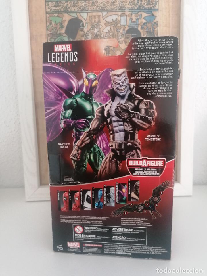 Figuras y Muñecos Marvel: Legends series tombstone marvel Spiderman villanos siniestros - Foto 2 - 266783674