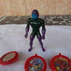Figuras y Muñecos Marvel: FIGURA MARVEL KANG X MEN Y ESCUDOS MARVEL. Lote 269064928