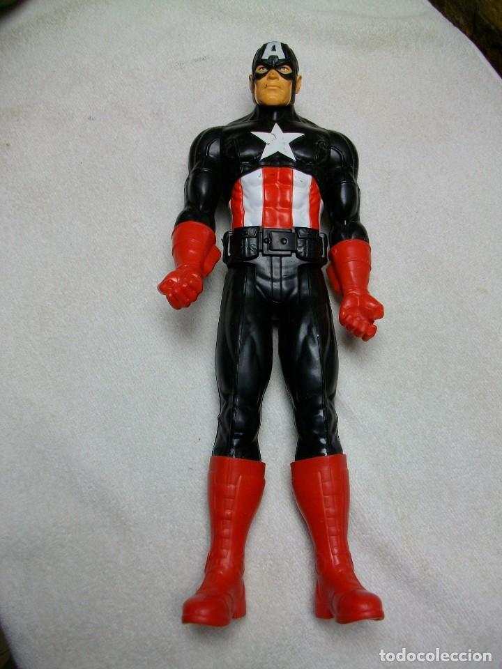 Figuras y Muñecos Marvel: FIGURA CAPITAN AMERICA de MARVEL TAMAÑO GRANDE - Foto 2 - 269159518
