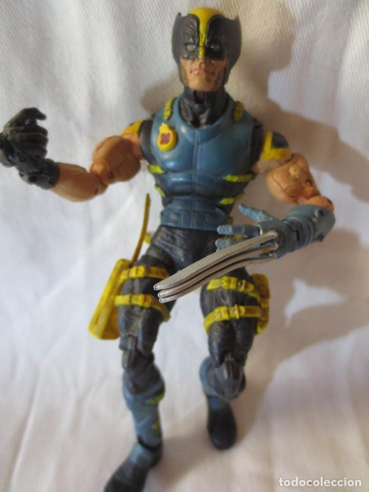 MARVEL LEGENDS (TOY BIZ) 2005 STEALTH WOLVERINE (LOBEZNO) X-MEN (Juguetes - Figuras de Acción - Marvel)
