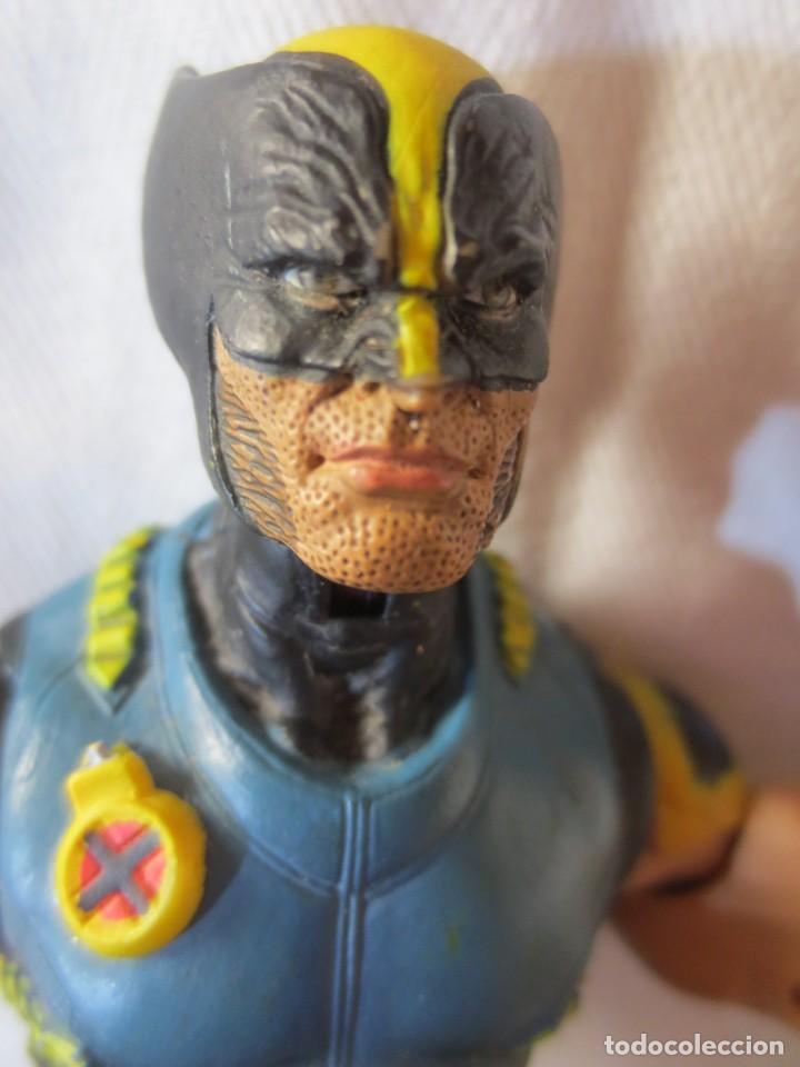 Figuras y Muñecos Marvel: Marvel Legends (Toy Biz) 2005 Stealth Wolverine (Lobezno) X-Men - Foto 11 - 269327608