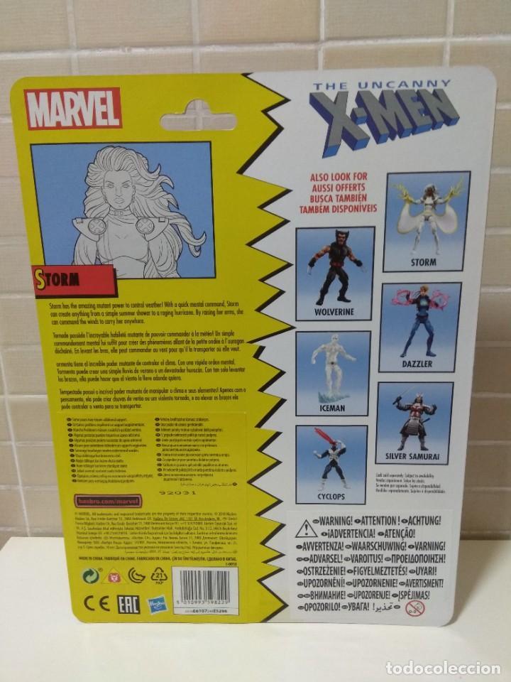 Figuras y Muñecos Marvel: Marvel Legends. Tormenta/Storm. The Uncanny X-Men. Nuevo sin abrir. - Foto 6 - 269444773