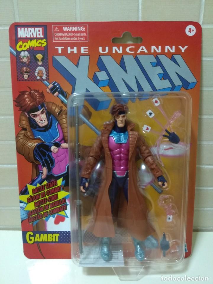MARVEL LEGENDS. GAMBITO/GAMBIT. THE UNCANNY X-MEN. NUEVO SIN ABRIR. (Juguetes - Figuras de Acción - Marvel)