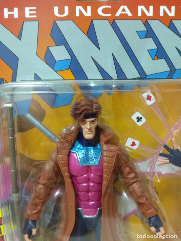 Figuras y Muñecos Marvel: Marvel Legends. Gambito/Gambit. The Uncanny X-Men. Nuevo sin abrir. - Foto 2 - 269445158