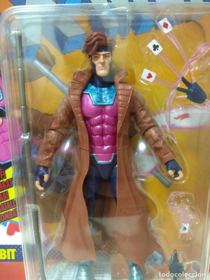 Figuras y Muñecos Marvel: Marvel Legends. Gambito/Gambit. The Uncanny X-Men. Nuevo sin abrir. - Foto 3 - 269445158